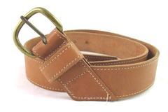 Vintage Waisted Belt Co Inc Genuine Leather Belt Women's Size Large Brown
