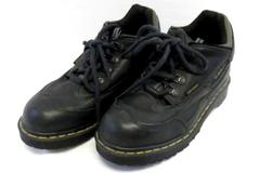 Dr. Martens Industrial Low Top Work Boots Men's Size 8 Black Oil Gas Resistant