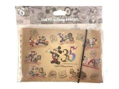 Disney Toyko Resort Notebook Mickey Minnie 35 Year Anniversary 2018 Sealed