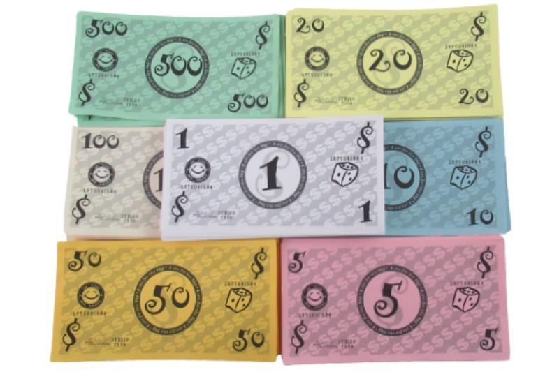Dog-Opoly Replacement Pieces 5 Metal Pieces Plastic Bones Houses Money Cards