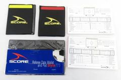 Lot of 3 Score Brand Soccer Referee Data Wallet Style 773 and Match Report Pads