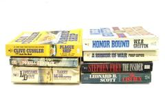Lot of 7 War Paperback Novels Larry McMurtry Audie Murphy WEB Griffin The Last