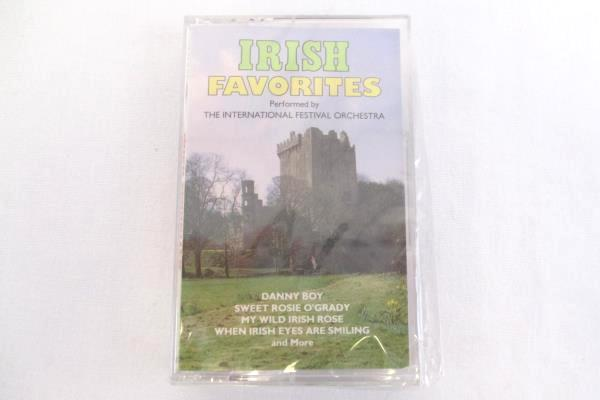 Irish Music Cassettes Lot of 2 Party Sing-a-Longs and Irish Favorites Sealed