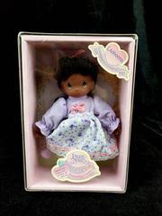 PRECIOUS MOMENTS Lashonna Doll African American Friendship Garden Series 1998