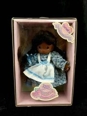 PRECIOUS MOMENTS Tameka Doll African American Friendship Garden 1998