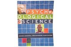Psychological Science Textbook 5th Edition Michael Gazzangia PB 2016 Norton