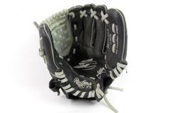 """Rawlings 10"""" Sure Catch Youth Infield Pitcher Glove Right Hand Throw Black Gray"""