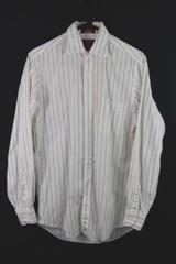 Vintage Nordstrom 2 x 2 Pin Point Button Up Shirt Men's Size 14.5-33 White Red