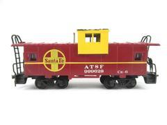 Vintage Bachmann HO Scale Model Train Santa Fe ATSF 999628 Caboose