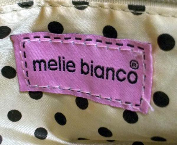 Melie Bianco Purse Convertible Crossbody Clutch Tan & Gold Laser Cut RENEE