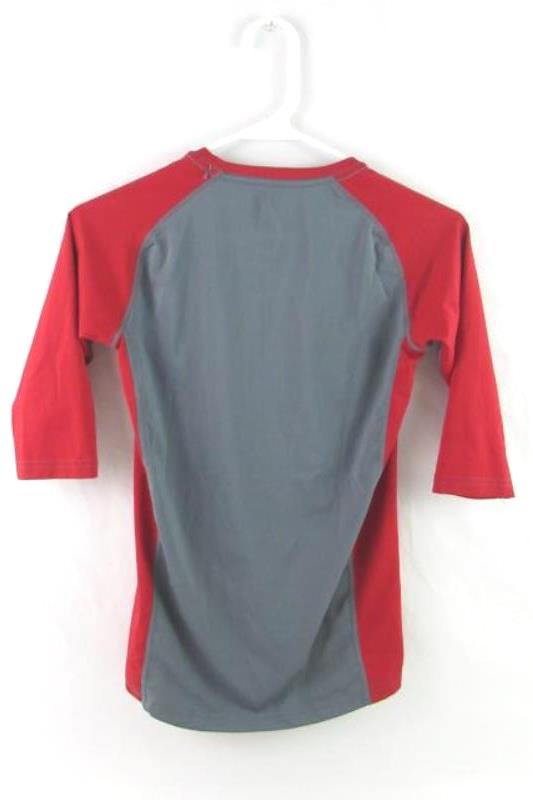 Eastbay The Authentic Sport Source Youth Baseball Tee Size YXL Grey Red