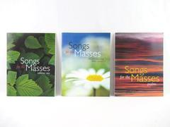 Lot of 3 Songs For The Masses Song Books Jeremiah 31 Psalms Volume One Paperback