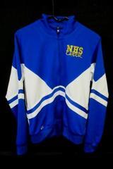 Newberg Oregon NHS GTM Youth Cheer Jacket Size Large Blue High School