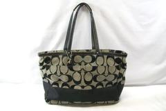 Coach Authentic Tote Baby Bag Multi Function Pockets Inside Outside Zip Pockets