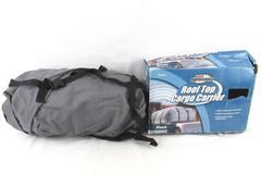 Axius Cargo Roof Top Carrier Bag Rack Waterproof Storage Luggage Car Travel Gray