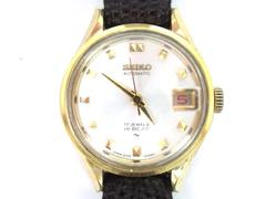 1970's Seiko Automatic Hi Beat Wrist Watch Women's 2205-0259 Not Working