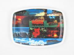 Hawaii U.S.S. Arizona Memorial Small Plastic Tray Souvenir Collectible