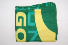 UO University of Oregon Ducks Fleece Throw Blanket Green Yellow by Northwest
