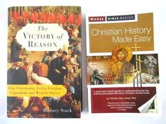 Lot of 2 Christianity History Made Easy & The Victory Of Reason