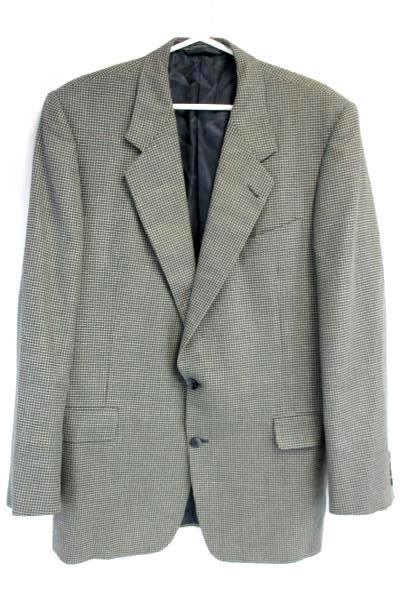 Hickey Freeman Blazer Sport Court Boardroom Men's 2 Button Blazer Size 42