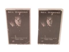 Neil Diamond The Greatest Hits 1966-1992 Two Cassette Tape Set Full Album
