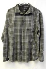 Great Northwest Clothing Company Button Up Shirt Grey Plaid Men's Size Large