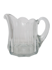 Vintage Heisey Priscilla Colonial Pitcher 6.75 Inch Tall Glass