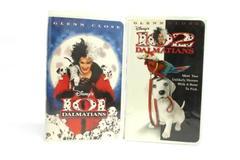 Lot 2 Disney VHS Movies 101 Dalmatians 102 Dalmatians