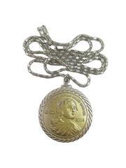 American Indian Relief Council 2014 Sacajawea Coin Token Necklace Pendant