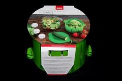 Kuhn Rikon Swiss Design Salad Maker Rinse Chop Serve Original Packaging Green