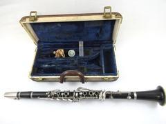 Vintage Clarinet Grenadilla Dark Wood Coudet Paris Martin Freres Soprano Bb
