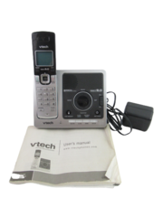 V Tech Dect 6.0 Cordless Phone and Digital Answering System Model DS6121