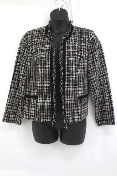 Elegant Woven & Lined Jacket by Dress Barn Women's Size 16 ~ High Quality
