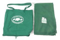 National Parks Conservation Association Tote Bag & Fleece Blanket Green