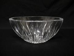 Oval Waterford Crystal Bowl Illuminations Pattern Clear Candy Dish Nuts Bowl