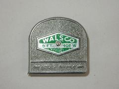 Vintage Walsco 8 ft. Metal Tape Measure Made in the U.S.A.
