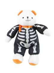 Hallmark Brandon Bear Halloween Skeleton Bones White 8in Stuffed Toy Animal Doll