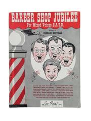 Barber Shop Jubilee For Mixed Voices S.A.T.B. Leo Feist