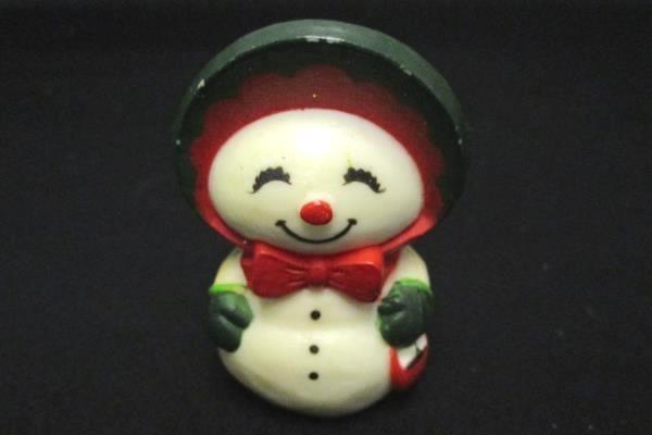 Lot of 6 Mixed Snowman Christmas Ornaments Snowflakes Stars Winter Wonderland