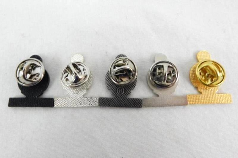Lot of 5 Vintage Book Smart Pins School Silver Tone Gold Tone Lapel with Backs