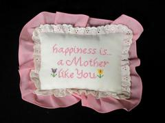 Small Lillian Vernon Throw Pillow Gift Happiness Is a Mother Like You