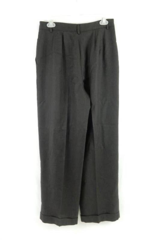 Limited America Women's Pure Wool Dress Pants Hi Rise Pleated Brown Size 10