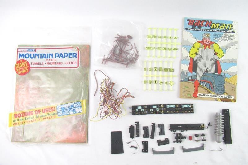 Lot of Random HO Gauge Model Train Parts And Accessories
