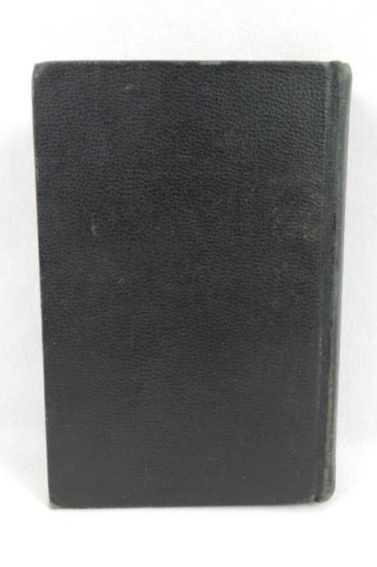 Vintage German Hymnal L.A. Miller 1940 Song Book Unparteiische Lieder Sammlung