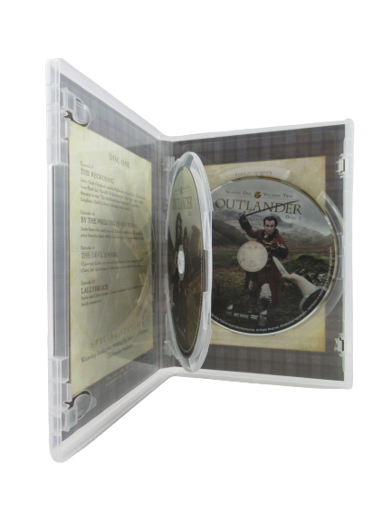 Outlander Season One Volume Two 2015 Sony Pictures 2 DVD Disc Set