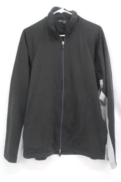 INC International Concepts Windbreaker Fleece Nylon Coat Sweater Jacket XL