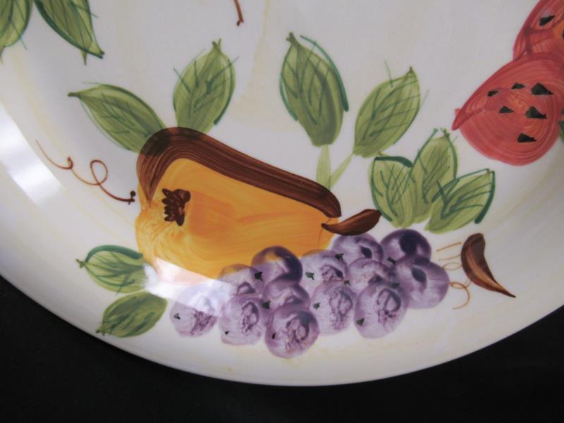 "Lot of 3 Royal Norfolk RNF1 Dinner Plates 10.5"" Round Fruit Pattern"