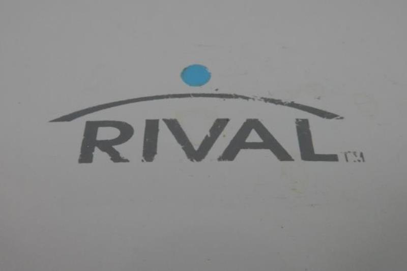 Rival Waffle Maker Model RVS6128A White Walmart Intertek Powers On