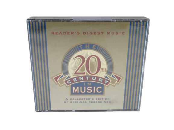 Lot of 3 Readers Digest Music CD 4 Disc Sets 12 Discs Total Century In Music