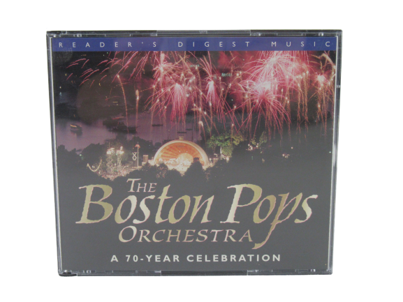 Readers Digest Music The Boston Pops Orchestra 70 Year Collection CD Set